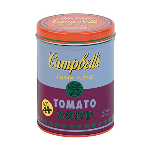 Galison Andy Warhol Soup Can Puzzle, Red: Mudpuppy; Andy Warhol
