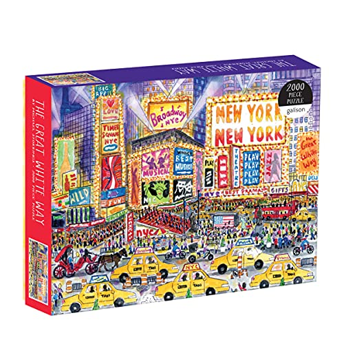9780735357037: Michael Storrings The Great White Way 2000 Piece Puzzle (Michael Storrings Great White Way)
