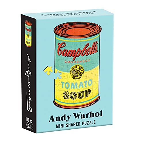 Andy Warhol Mini Shaped Puzzle Campbell's Soup: Andy Warhol