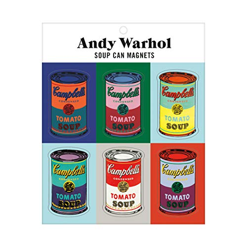 Andy Warhol Soup Can Magnets: Galison (Corporate Author)/