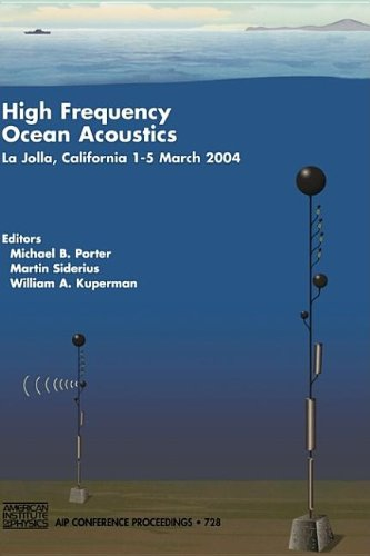 9780735402102: High Frequency Ocean Acoustics: High Frequency Ocean Acoustics Conference (AIP Conference Proceedings)