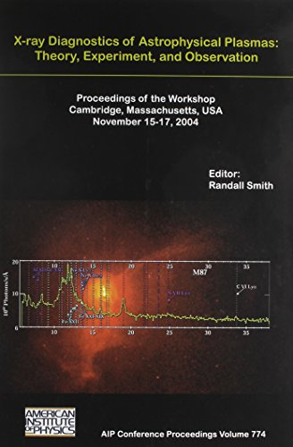9780735402591: X-ray Diagnostics of Astrophysical Plasmas: Theory, Experiment, And Observation