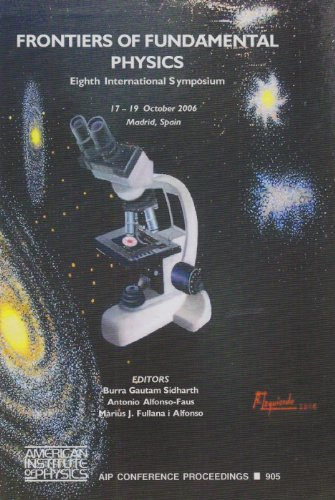 9780735404120: Frontiers of Fundamental Physics (FFP 8): Eighth International Symposium (AIP Conference Proceedings / Astronomy and Astrophysics)