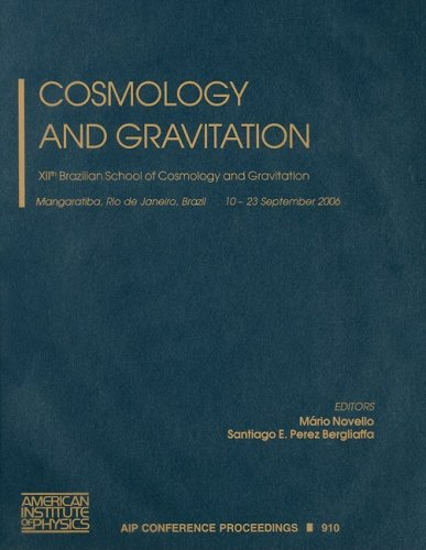 9780735404182: Cosmology and Gravitation: XIIth Brazilian School of Cosmology and Gravitation (AIP Conference Proceedings / Astronomy and Astrophysics)