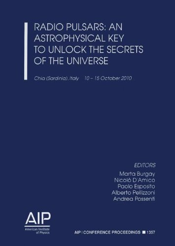 9780735409156: Radio Pulsars: An Astrophysical Key to Unlock the Secrets of the Universe (AIP Conference Proceedings / Astronomy and Astrophysics)