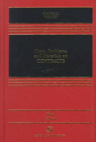 9780735500273: Cases, Problems, and Materials on Contracts (Casebook)