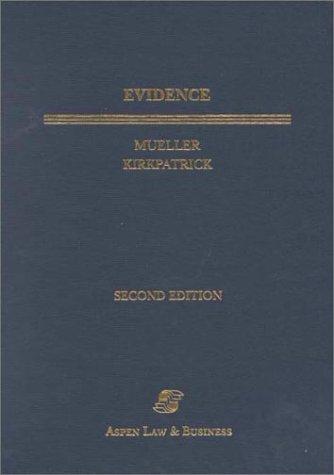 9780735500693: Evidence (Textbook)