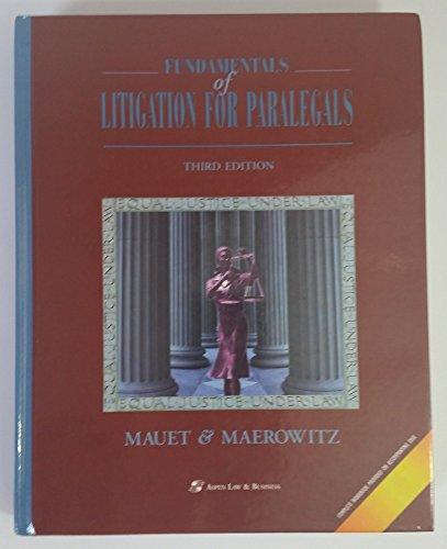 9780735502758: Fundamentals of Litigation for Paralegals