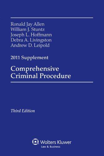 Comprehensive Criminal Procedure, 2011 Case Supplement: Ronald Jay Allen,