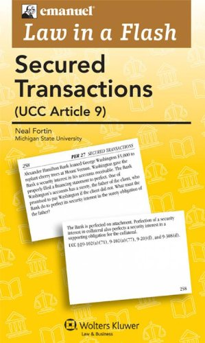 9780735507524: Law in a Flash Cards: Secured Transactions 2011 (Emanuel Law in a Flash)