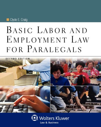 9780735507777: Basic Labor & Employment Law for Paralegals, Second Edition (Aspen College)