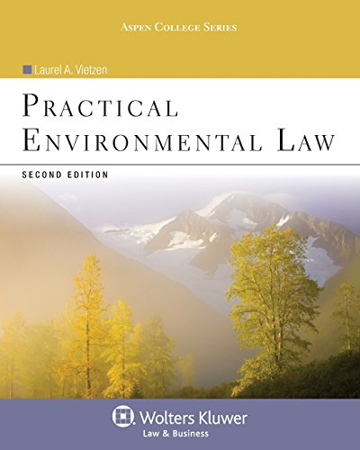 9780735507807: Practical Environmental Law, Second Edition (Aspen College)