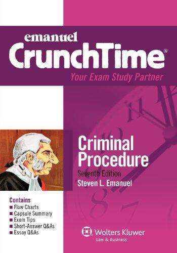 9780735508163: Emanuel CrunchTime: Criminal Procedure, 7th Edition