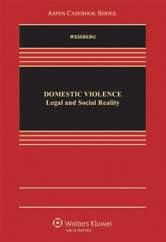 9780735508637: Domestic Violence: Legal and Social Reality (Aspen Casebook)
