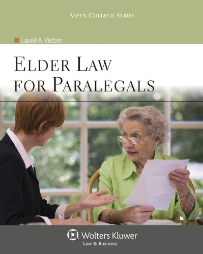 9780735508675: Elder Law for Paralegals (Aspen College)