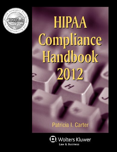9780735509146: HIPAA Compliance Handbook, 2012 Edition