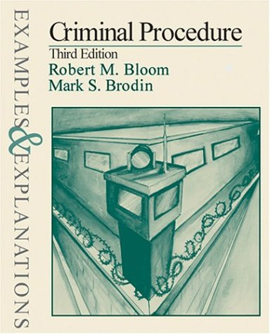9780735513181: Criminal Procedure: Examples and Explanations (Examples & Explanations Series)