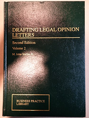 9780735513617: Drafting Legal Opinion Letters
