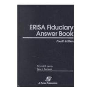 9780735515819: Erisa Fiduciary Answer Book