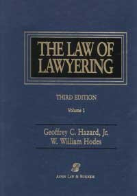 9780735516083: Law of Lawyering 3e 2 Vol Set HB