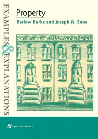 9780735519695: Property: Examples & Explanations (Examples & Explanations Series)
