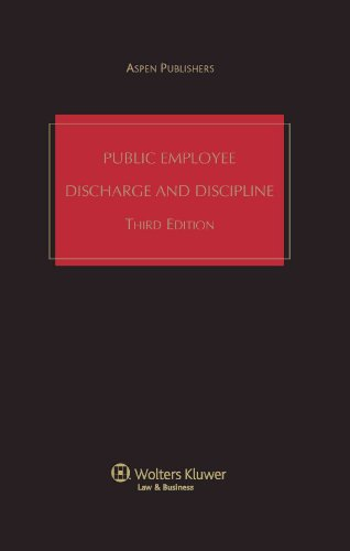9780735521179: Public Employee Discharge and Discipline, Third Edition