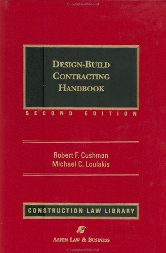 9780735521827: Design-Build Contracting Handbook (2 Volume set)