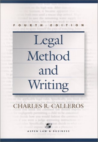 9780735524217: Legal Method and Writing (Legal Research and Writing)