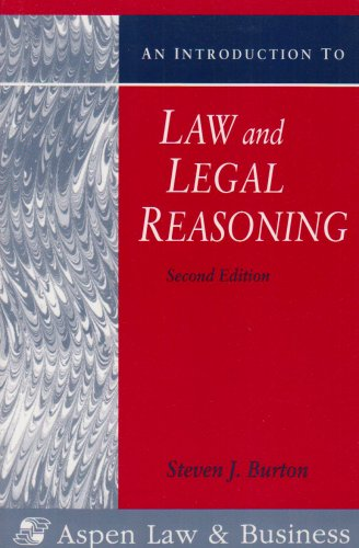 9780735525948: An Introduction to Law and Legal Reasoning