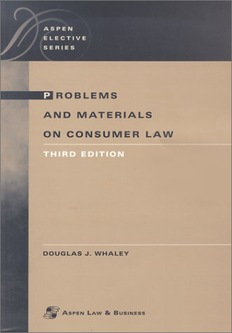 9780735526013: Problems and Materials on Consumer Law (Aspen Elective Series)