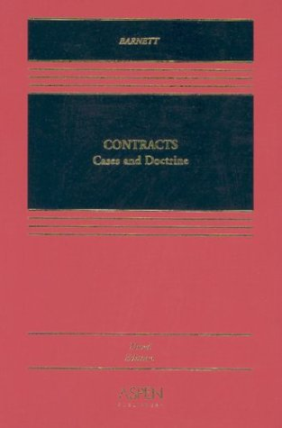 9780735526341: Contracts: Cases and Doctrine