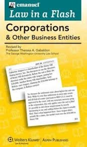 9780735526563: Corporations: Law in a Flash