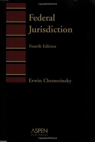 9780735527188: Federal Jurisdiction (Introduction to Law Series)