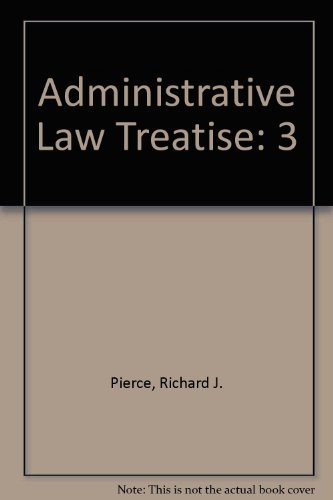 9780735527607: Administrative Law Treatise ( VOL 3)