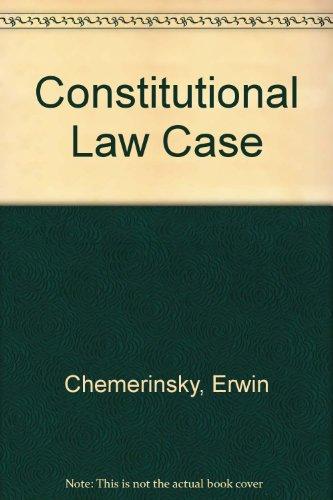 9780735527737: Constitutional Law Case 2002