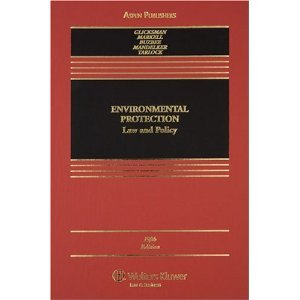 9780735527935: Environmental Protection: Law and Policy