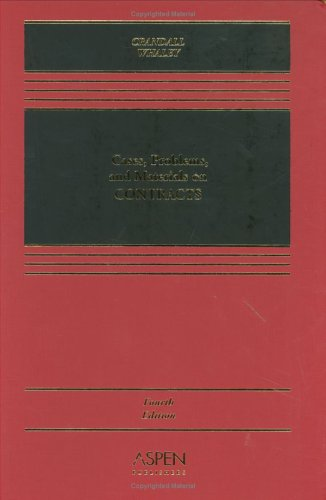 9780735527973: Cases, Problems, and Materials on Contracts