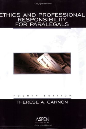 9780735529045: Ethics and Professional Responsibility for Paralegals
