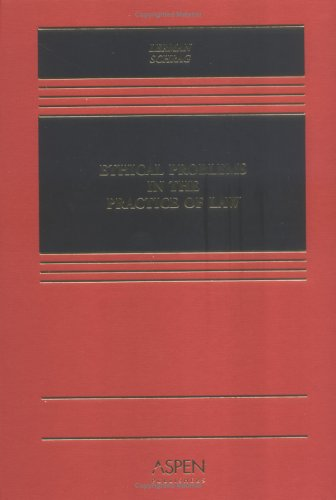9780735529144: Ethical Problems In The Practice Of Law (Casebook)