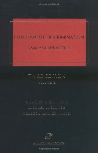 9780735531062: Employment Discrimination: Law & Practice