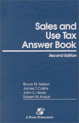 9780735531260: Sales and Use Tax Answer Book