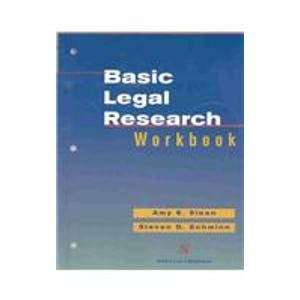 9780735533752: Basic Legal Research