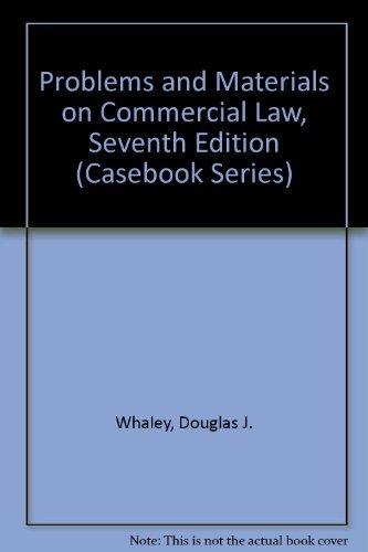 9780735534810: Problems and Materials on Commercial Law (Casebook Series)