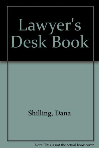 9780735535220: Lawyer's Desk Book