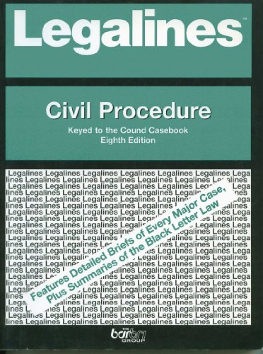 9780735535312: Civil Procedure (Casenote Legal Briefs)