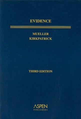 9780735537460: Evidence