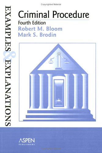 9780735539686: Criminal Procedure: Examples and Explanations (Examples & Explanations)