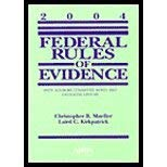 Federal Rules of Evidence : With Advisory: Laird C. Kirkpatrick;