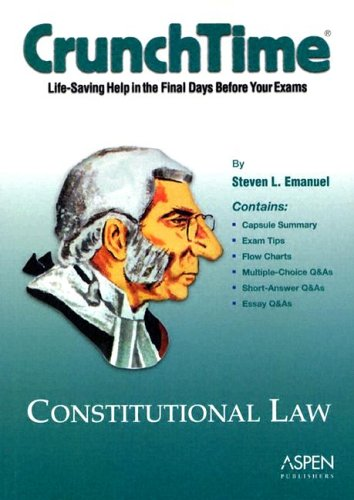 9780735540880: Constitutional Law, 2004 (Crunchtime)