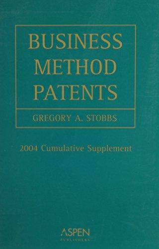 9780735542532: Business Method Patents 2004 Cumulative Supplement